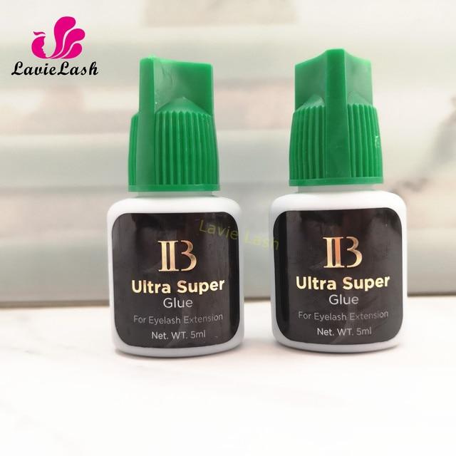 Free Shipping Private Label 10 bottles/lot IB Ultra super Glue Eyelash Extensions glue Green Cap 5ml Wholesale Order Korea Made
