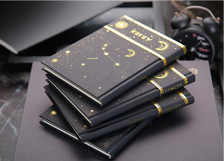 Zodiac Vintage Diary notebook paper 96 sheets Blank notebook notebook Creative Note book Office School Supplie notebooks