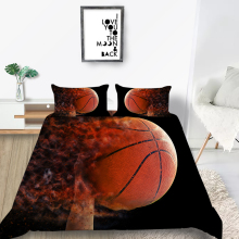Baseball Bedding Set Queen Size Fashionable Creati