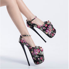 2020 yüksek topuklu sandalet yaz seksi burnu açık parti elbise platformu gladyatör kadın ayakkabı 22 cm takip eğlenceli boyut zapatos Mujer
