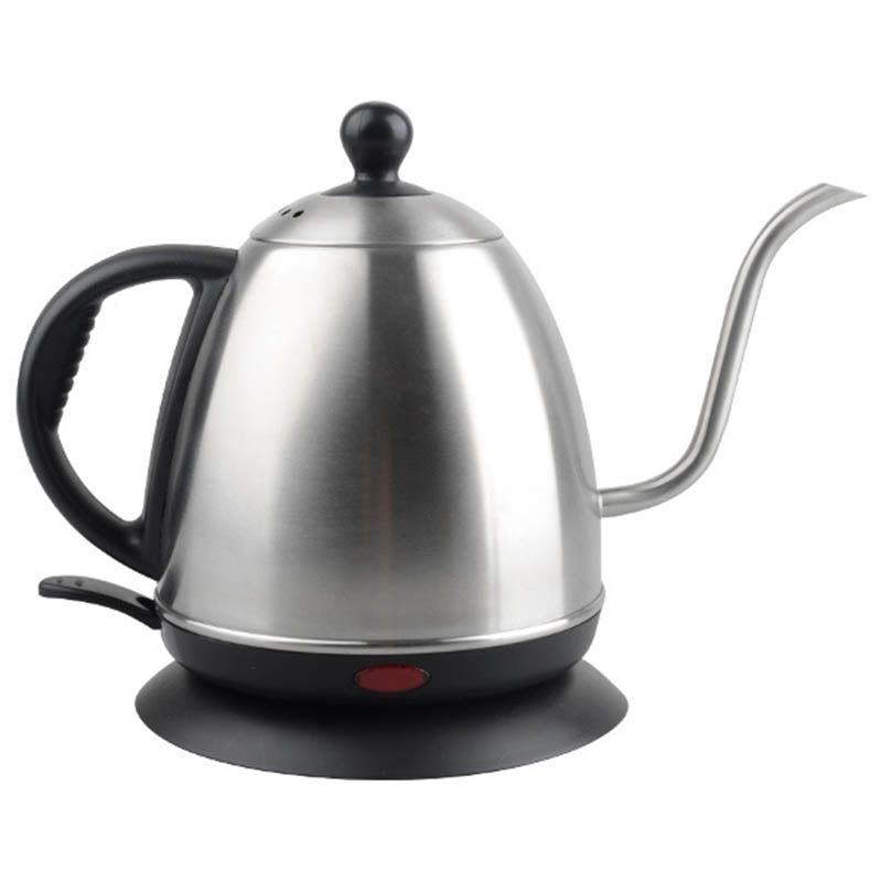 Eu Plug,Hand-Washed Coffee Pot Set Kettle Electric Coffee Pot Barista Special Drip-Type Fine Mouth Pot 1L Long Mouth Pot