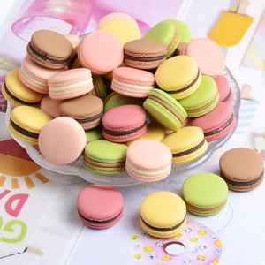 30Pcs Mixed Colors Cute Macaro