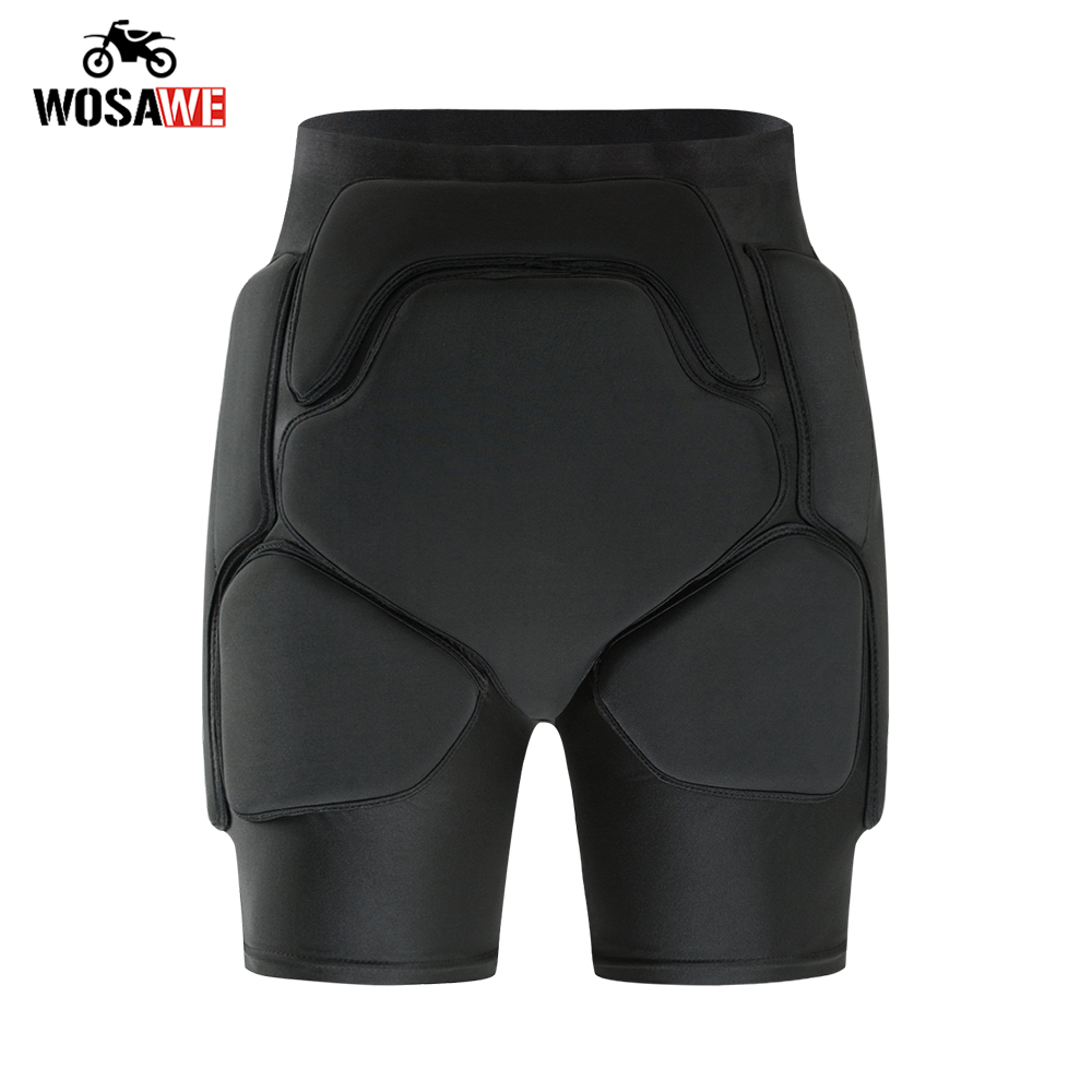 Motorcycle Skiing Protective Hip paddeds snowboard Men Anti-drop Armor Gear Hip Butt Support Protection Motocross Hockey Shorts
