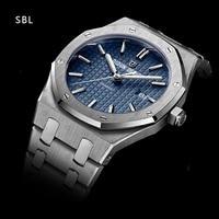 DIDUN diseño hombres reloj de cuarzo reloj de acero japonés Miyota Movt de cristal de zafiro de acero inoxidable completa de negocios de moda de 30m impermeable reloj de pulsera