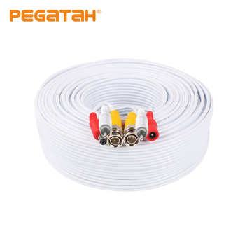 50M Security Camera Video Audio Power Cable Wire Cord for CCTV DVR Surveillance System цена 2017