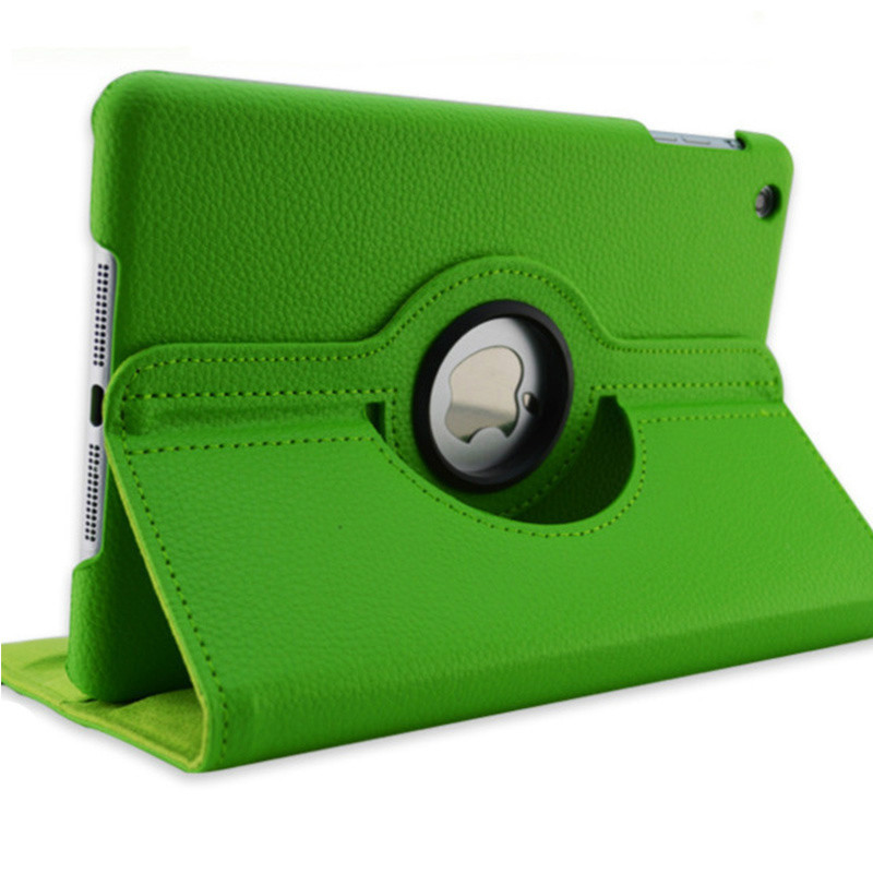 Green Green Case for Apple iPad pro 11 Case 2020 A2228 A2068 A2230 2nd 360 Degree Rotating Leather