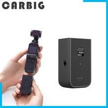 W magazynie oryginalny DJI Pocket 2 zrób to wszystko uchwyt Do bezprzewodowego Wifi moduł bluetooth zewnętrzny mikrofon słuchawki OSMO Pocket 2