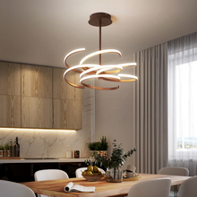 Creativ Chandelier lighting Modern led chandelier For livingroom Nordic Aluminum Brown Creative lustre moderno lampadari