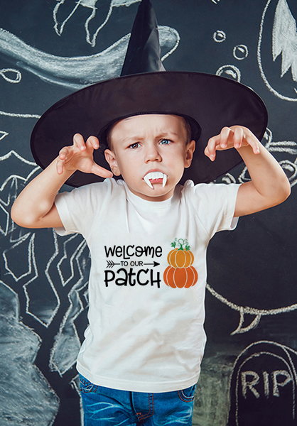 T-Shirt Holiday-Wear Pumpkin-Printed Halloween Girls Boys Short-Sleeve Fashion Unisex