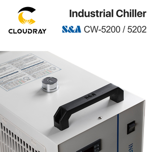 Image 4 - Cloudray S&A CW5200 CW5202 Industry Air Water Chiller  for CO2 Laser Engraving Cutting Machine Cooling 150W Laser Tube