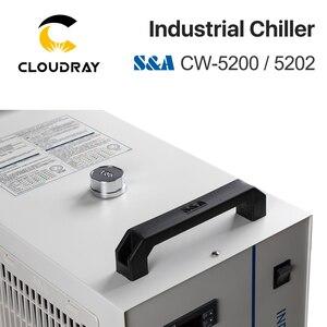 Image 4 - Cloudray S & Một CW5200 CW5202 Ngành Công Nghiệp Không Nước Tủ Lạnh Cho CO2 Khắc Laser Cắt Máy Làm Lạnh 150W Laser ống