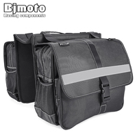 BJMOTO Motorcycle Motorbike Scooter ATV Rear Saddlebags Saddle Swingarm Left Right Side Bag Tool Bags Cycling Outdoor Saddle Bag