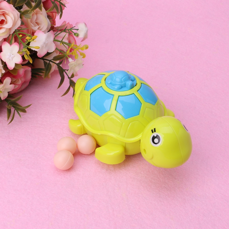 Cute Baby Animal Tortoise Turtle Education Toys Clockwork