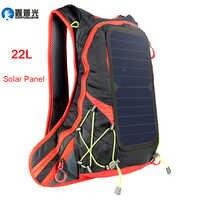 Xinpuguang 6W 6V USB rouge sac à dos panneau solaire batterie externe chargeur pour Smartphone extérieur Camping escalade voyage randonnée