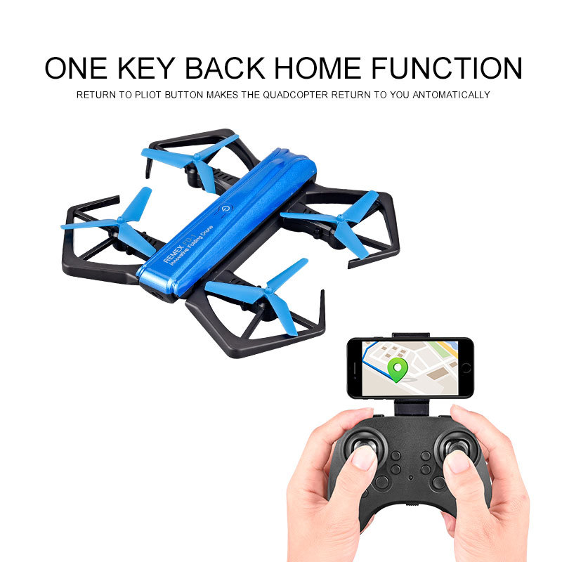 Brocade Yu With Camera Folding Quadcopter Mini Unmanned Aerial Vehicle Aerial Photography Model Remote Control Aircraft