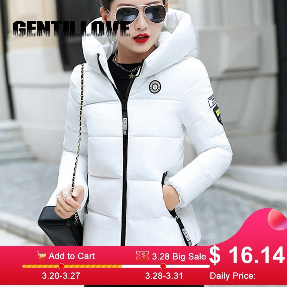 Winter Parkas Women Plus Size 5XL Coat Jacket Hooded Thick Warm Short Outerwear Female Slim Cotton Padded Basic Tops Outwear