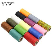 2017 0 8mm 100m spool macrame rope satin rattail nylon cords string kumihimo chinese knot cord diy bracelet jewelry findings 22 Colors Polyester Cord Needlework Beads Spool String Kumihimo Knot Diy Bracelet Jewelry Findings Rope Components 50m/Lot 0.8mm