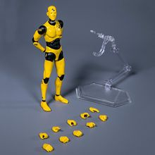 Damtoys dps01/dps02 1/12 escala, masculina, figura de ação, teste de acidente, manequim, 6