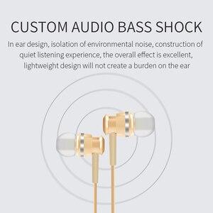 Image 4 - Проводные Наушники Joyroom, наушники вкладыши 3,5 мм, спортивные наушники для телефона, стерео, бас, звук, металлический микрофон для Xiaomi, Samsung