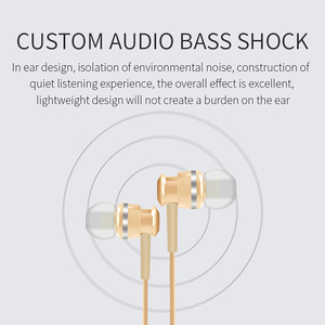Image 4 - Joyroom Wired Earphone In Ear Earphones 3.5mm Sport Earphone For Phone Stereo Bass Sound Metal Mic For Xiaomi Samsung