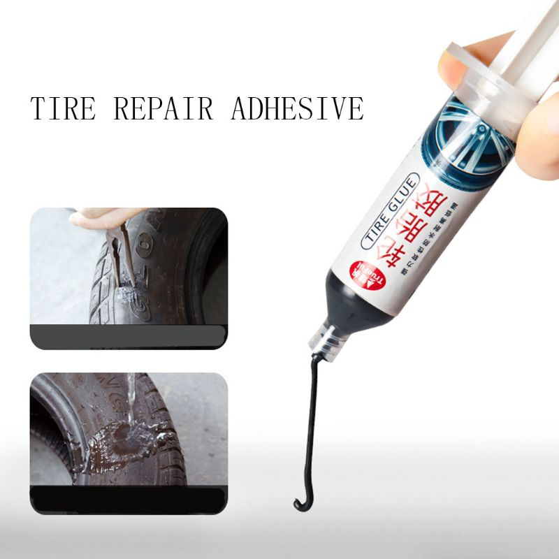 Multifunctional Rubber Cement Tire Repair 30ml Tube Wheel Bicycle Patch Plug