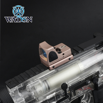 Aimo Tactical Riflescope Mini RMR Red Dot Glock Sight Hunting Reflex Sight Scope fit Weaver Picatinny Rail Optics Scope AO1006 2
