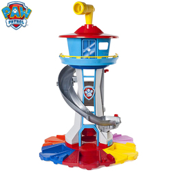 Oversized Toren Poot Patrouille Puppy Hoofdkwartier Speelgoed met Muziek Patrulla Canina Poot Patrouille uitkijk toren Speelgoed Set Kid's Gift