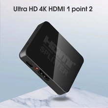 Hdcp udio 1080p Fora 1x2 Amplificador-De-Sinal-De-Potncia Distribuidor-De-Vdeo 3d Hdmi-Divisor