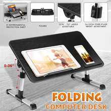 Computer-Table Ergonomic Desk Book-Stand Bed Cooling-Fan Aluminum with for Living-Room