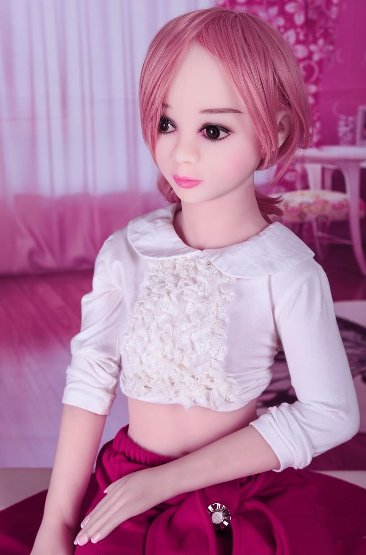 100cm Sex Doll Mini Silicone Sex Dolls TPE Love Life Size Adult Real Flat Chest Sex Doll Realiatic Lifelike ToysSex Dolls   -