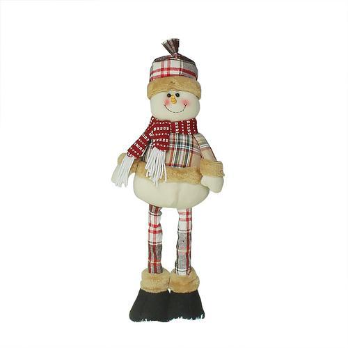Хит, 30 стилей, рождественские украшения для дома, Рождественские куклы, елочные украшения, инновационная декорация с лосем, Сантой, снеговиком - Цвет: 06 51x13cm