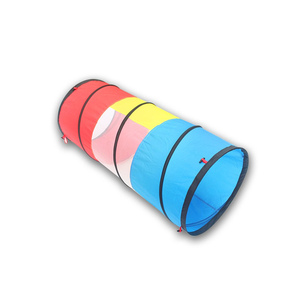 Children's Toys 1 M 1 Round Tunnel Crawler Tube Sunlight Drill Hole Early Education Training Equipment