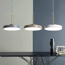 Nordic Indoor Led Esszimmer Anhänger Licht Moderne Runde Suspension Hängen Lampen Leuchten Leuchte Küche Café Hause Schmücken