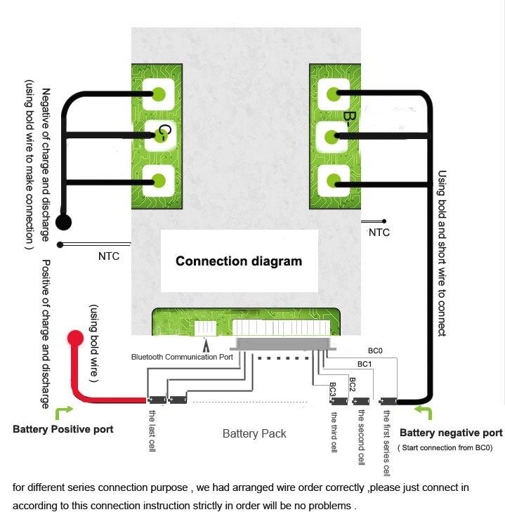 15S Smart BMS connection