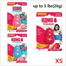 Xs-tamanho kong clássico cão mastigar brinquedo coleção até 5lbs(2kg)