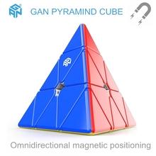 GAN cube 3x3x3 piramida magnetyczna kostka 3*3*3 prędkość kostka GAN magiczna kostka rubika 3x3x3 Puzzle Profesjonalna kostka Rubika 3x3x3 kostka kostki do gry zabawki GAN cube 3x3x3 Magnetic pyramid magic cube tanie tanio CN (pochodzenie) Z tworzywa sztucznego GAN Magnetic pyramid magic cube 5-7 lat 8-11 lat 12-15 lat Dorośli 6 lat 8 lat