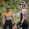 Kafitt verão novo de manga curta ciclismo wear terno macacão feminino triathlon ciclismo wear mountain bike macaquinho 20