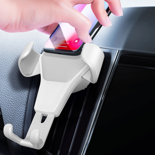 Universal Car Mobile Phone Holder Air Vent Mount Stand No Magnetic Cell Phone Holder For iPhone Phone In Car Bracket Z2 2