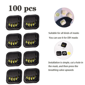 100 Sets Dustproof Mask Air Br