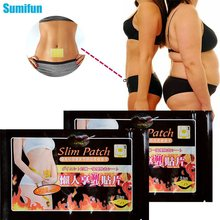 10pcs Slim Patches Slimming Navel Stick Weight Loss Burning Anti Cellulite Lose Weight Body Relaxation Massage