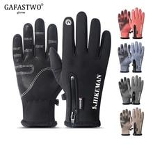 Winter Warm Touch Screen Splash-proof Man Gloves Ladies Fash
