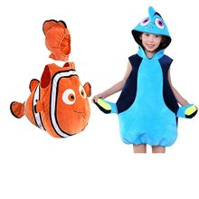 Finding Nemo Clownfish cospaly costume Pixar Animated Film Nemo baby kids clothing Halloween Christmas party