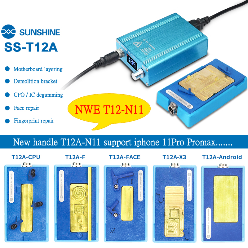 SUNSHINE SS T12A-N11 Motherboard Layered Preheating station,for IPhone11/11P/11P MAX