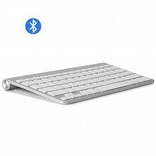 Wysokiej jakości ultra cienka klawiatura Bluetooth wycisz tablety i smartfony dla Apple Wireless Keyboard Style IOS Android Windows