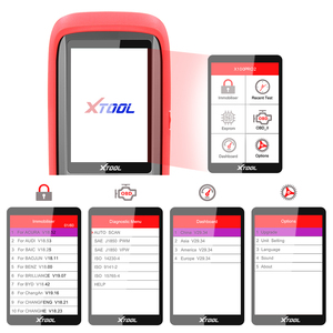 Image 2 - أداة تشخيص السيارات الأصلية Xtool X100 Pro2 أداة برمجة مفتاح وحدة التحكم الإلكترونية OBD2 عداد المسافات تصحيح الأميال X100 Pro 2 OBD 2 OBD2 أداة تشخيص السيارات