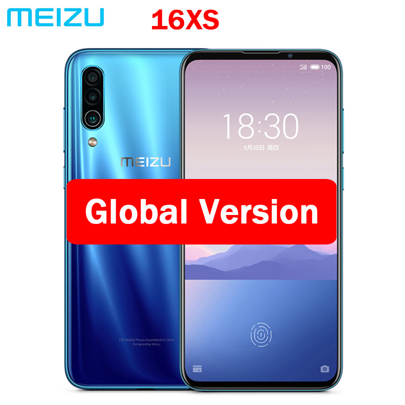 Global ROM Meizu 16XS 6GB RAM 16 XS Smart Phone Snapdragon 675 6.2