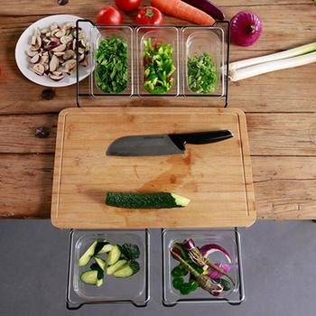 2019 Hot sales multi-Function Cutting Board Antibacterial Classification Cutting Board Real Kitchen Vegetable Fruit Knife Board