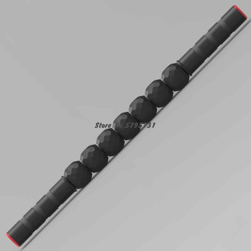 48 ซม.กล้ามเนื้อนวด Stick Rod เกียร์โยคะ Roller Stick เท้าใบหน้าขานวดผ่อนคลายเครื่องมือ health Care