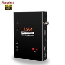 Boîtier d'enregistrement vidéo Ezcap 286 1080P SDI HD 3G, carte d'enregistrement H.264 Pro avec télécommande pour disque SD USB, encodeur SDI HD