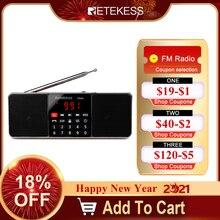 Retekess TR602デジタルポータブルam fmラジオのbluetoothスピーカーauxステレオMP3プレーヤーtf/sdカードスリープタイマーusbドライブledディスプレイ